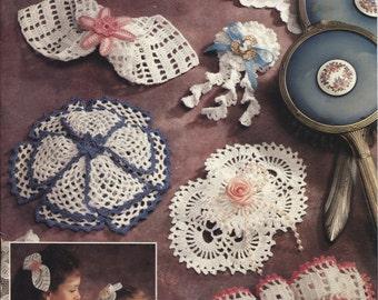 Crochet Patterns Hair Accessories : ... Attic 87H56 , Crochet Hair Bows, Hair Accessories Crochet Patterns