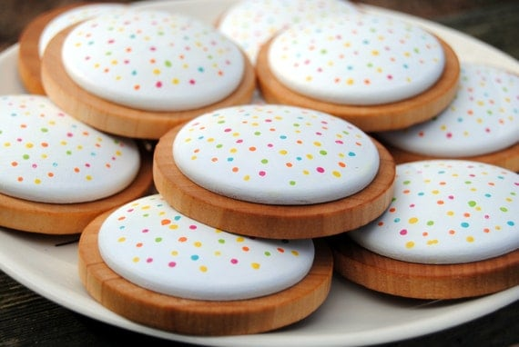 Sprinkle cookies play food by Wild Marigold