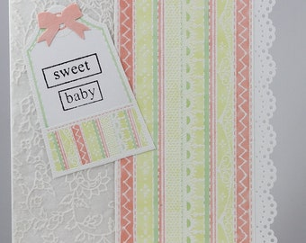 Sweet Baby - Greeting Card for a girl