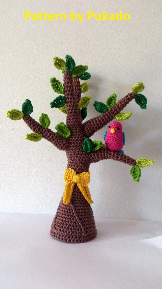 Pattern Only - Tie a Yellow Ribbon 'round the ole Oak Tree - Perfect for Spring!