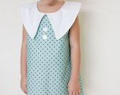 Simply Chic Dress PDF pattern and tutorial - sizes 2t - 10, childrens sewing PATTERN - Instant download