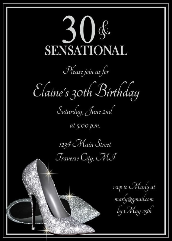 Adult Birthday Invites 53