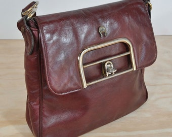 Vintage Etienne Aigner Leather Bag