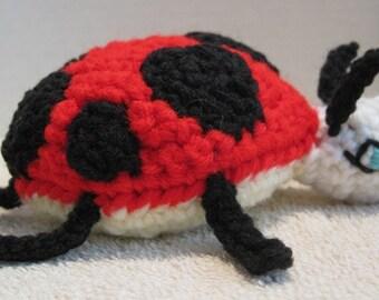 Crochet Ladybug Toy