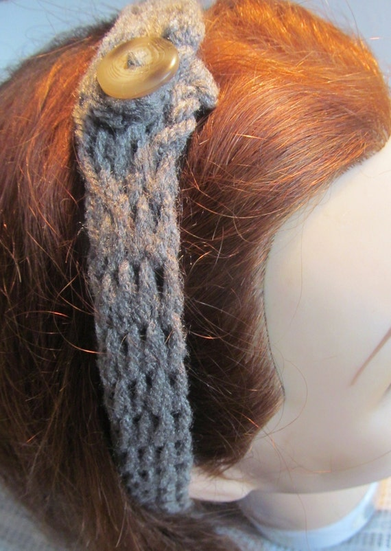 Loom Knitted Hairband