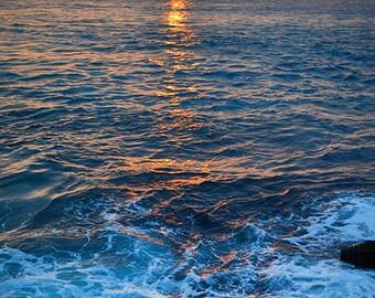 Kona Crash Sunset, Hawaii - 8x10 digital print
