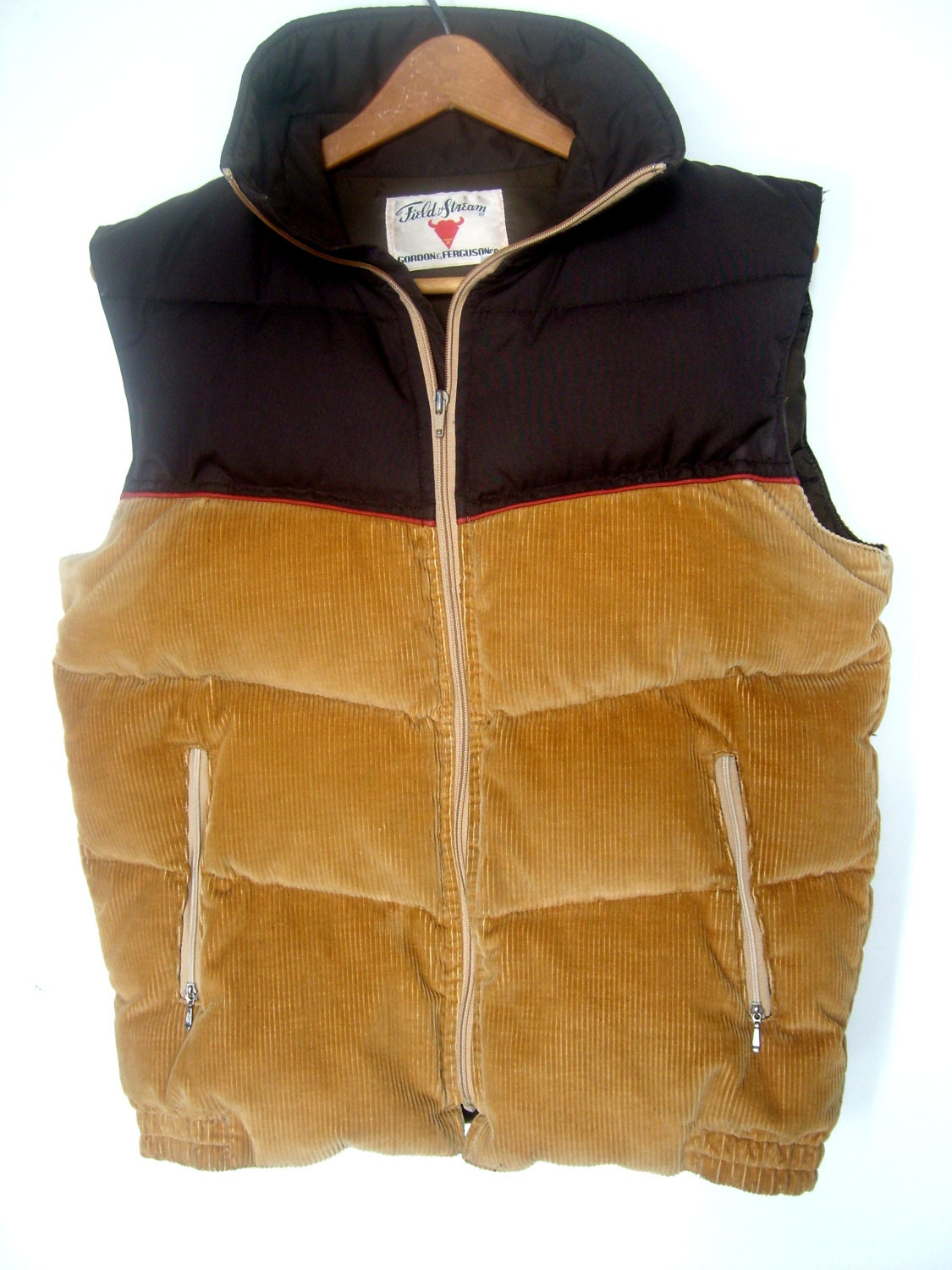 Mens Puffy Down Vest 78