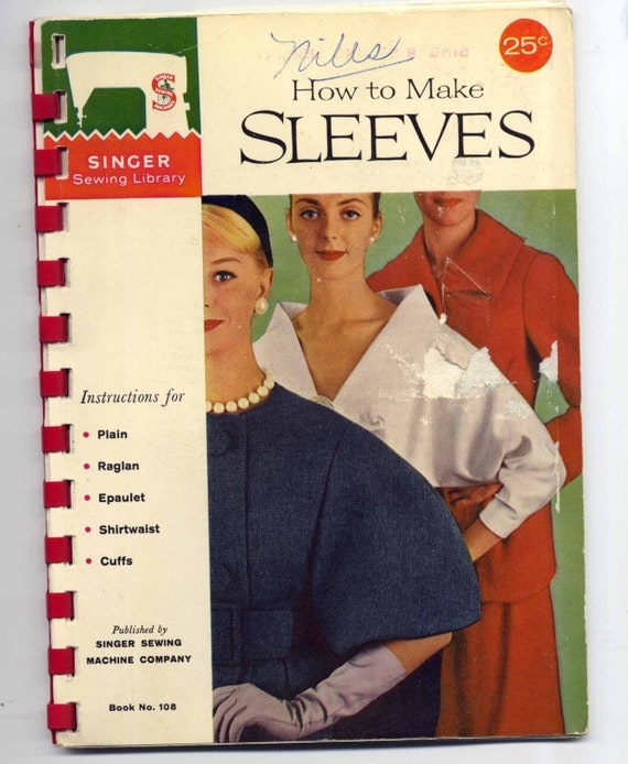 1960s How to Make Sleeves Booklet - Singer Sewing Library - Book 108
