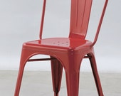 vintage steel dining and outdoor chair