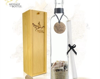 Personalized Gift for Men - LEGEND Message In A Bottle