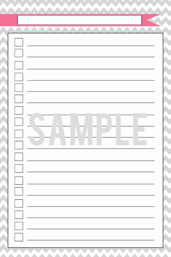 Cute Printable To Do Lists - #Pr-Energy