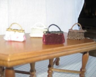 Miniature Hand made Purses