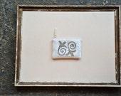 Beaded Bags -No. 5- Scrolls and swirls