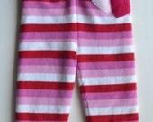 Medium/large double layer merino and cashmere longies