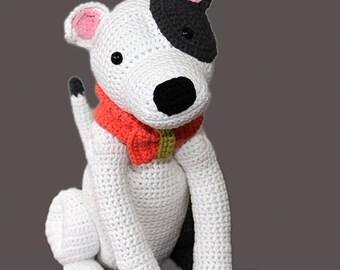 Crochet pattern for Staffordshire Bull Terrier, American Staffordshire Terrier, Pit Bull Terrier