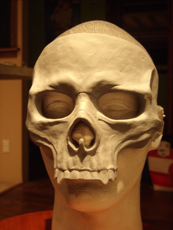 skull mask blank by ravenkingrelics on etsy