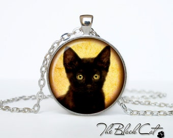 Steampunk cat pendant Steampunk cat necklace Steampunk cat jewelry Halloween jewelry