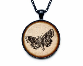 Vintage Butterfy pendant Vintage Butterfy necklace Vintage Butterfy jewelry nature necklace