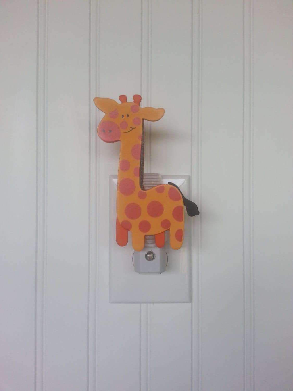 Giraffe Night Light Night Light Giraffe Nursery Decor