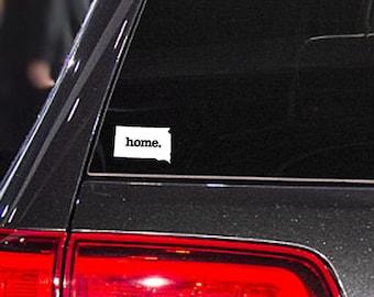 South Dakota Home. Decal Car or Laptop Sticker
