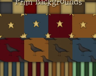 Prim Backgrounds - Digital Clipart Backgrounds