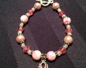 Breast Cancer Awareness Bracelet - BayouJewelry