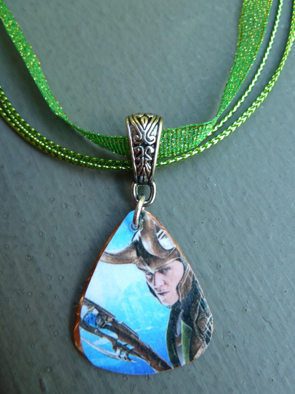 loki thor guitar necklace ebay