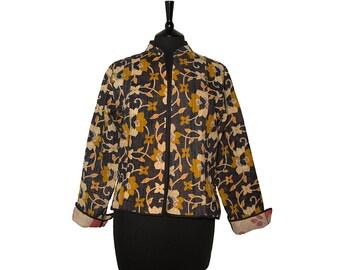 KANTHA JACKET - X Large - Short style - Size 14/16