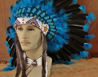 Imitation Native American War Bonnet (INWB128)