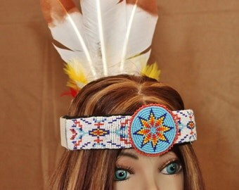 Imitation Native American Headband (INH109)