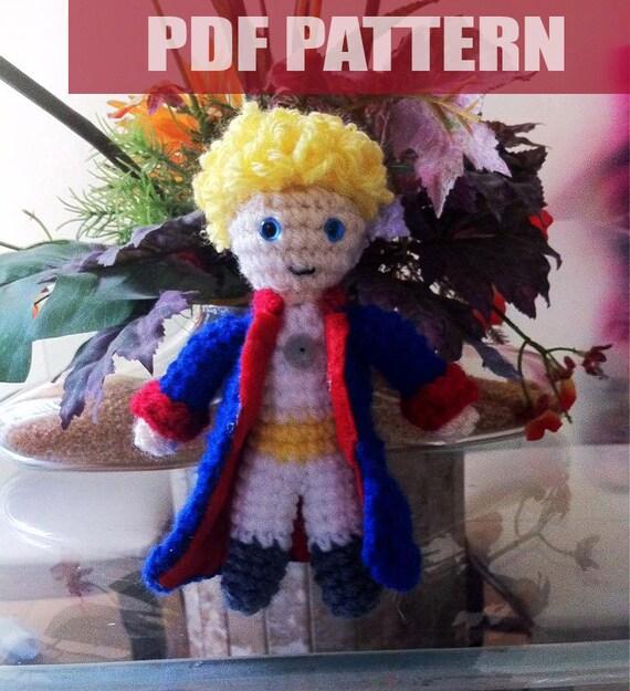 Little Prince Amigurumi Free Pattern : PDF CROCHET PATTERN Le Petit Prince by AmiAmaLiliumDesigns ...