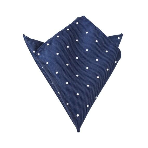 Men's Pocket Square Navy Blue