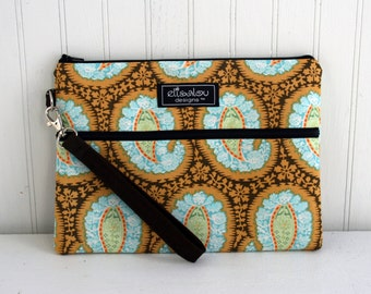 Henna Paisley Padded Apple iPad Pouch Case