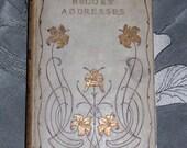 "Handbound Journal from vintage BROOKS"" ADDRESSES"
