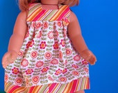 Dress Pattern PDF for American Girl - 18 inch Doll Clothes Pattern - Downloadable Sewing pattern