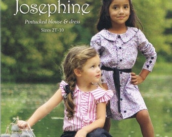 Violette Field Threads Josephine Blouse and Dress Sewing Patterns Designs