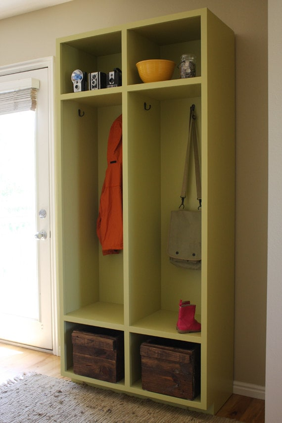 woodworking plans mudroom storage