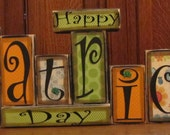 St. Patrick's Day Sign - Happy St. Patrick's Day