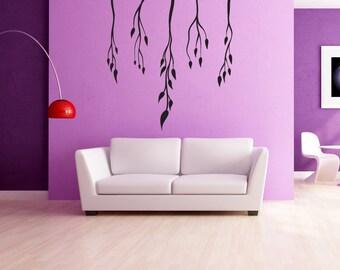 Vinyl Wall Decal Sticker Dangling Vines OSMB1046s