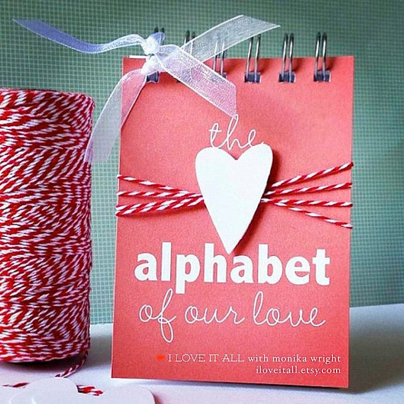 40 Romantic Diy Gift Ideas For Your Boyfriend You Can Make: Alphabet Of Our Love . Wedding Engagement Marriage By