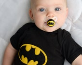 The Signal Custom Hand Painted Clear Pacifier by PiquantDesigns