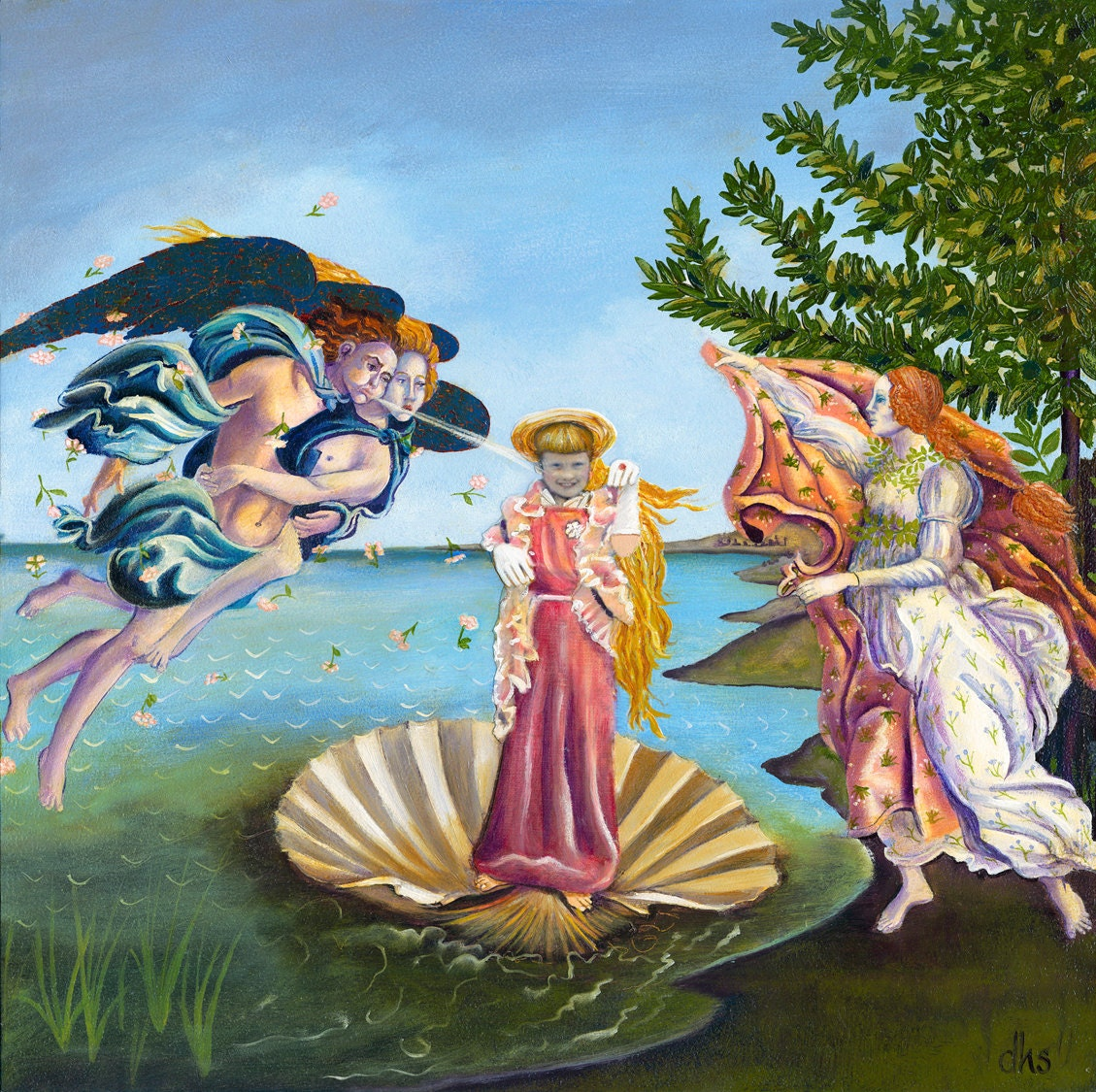 Birth Of Venus Oil Painting