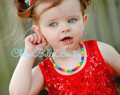 Rainbow Bow Clips Set - Toddler, Child, Teen, Adults