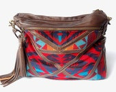 Pendleton and leather bag- The Buena Vista Social Bag - ArcOfADiver