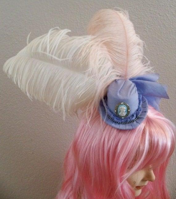 Marie Antoinette Mini Top Hat