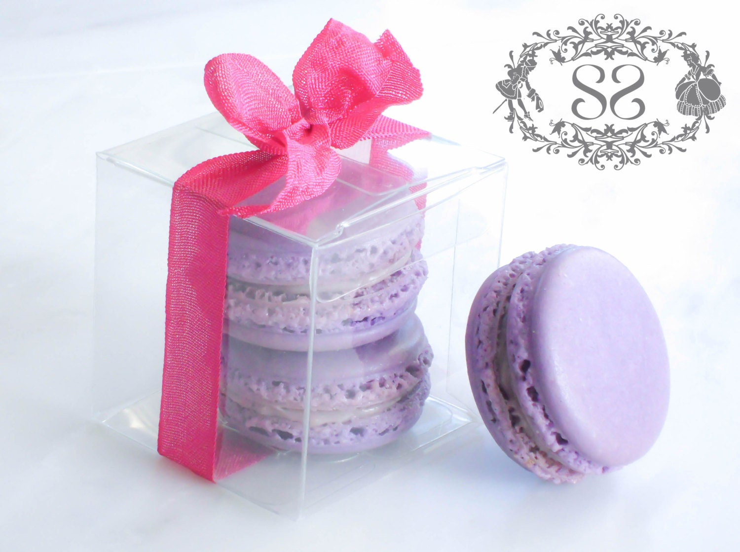 Wedding Favor Boxes For Macarons : Wedding Favors French Macaron Favor Baptism Communion Favor
