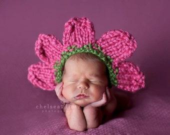Newborn Photo Prop, Newborn Halloween Costume, Newborn Flower Costume, Baby Halloween Costume, Baby Flower Costume, Baby Flower Hat