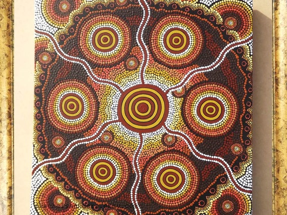 Image result for aboriginal dot painting authentic