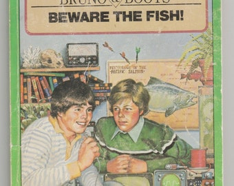 the crazy ideas of bruno and boots in beware of the fish by gordan korman Is the name of a series of young adult novels by author gordon korman the series was formerly named bruno and boots beware the fish (1980) macdonald hall.