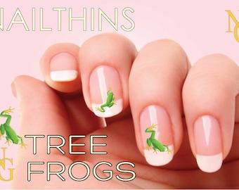 Soccer nail decal nail art nail design nailthins tree frog nail decal nail art nailthins nail design prinsesfo Images